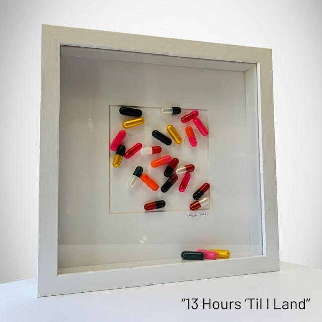 """My Pills"" collection created by Rinat Lavi and incorporates colorful capsules to create a collage. These pieces are a..."
