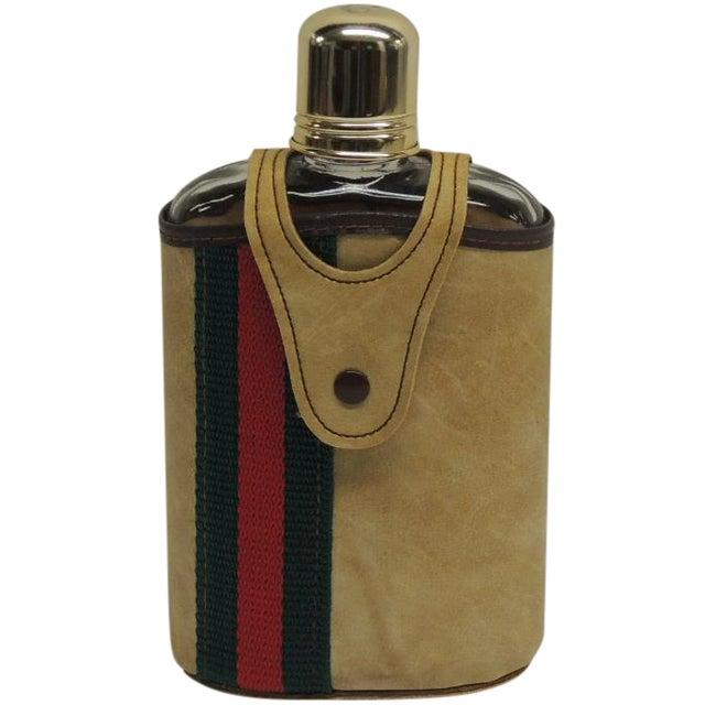 Vintage Traveling Glass Flask - Image 1 of 4