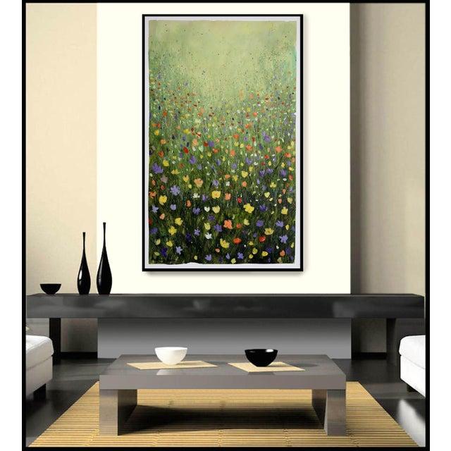 """Flowerfield Three"" Painting - Image 7 of 8"