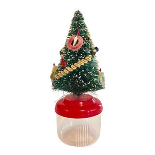 Bottlebrush Tree Candy Container For Sale