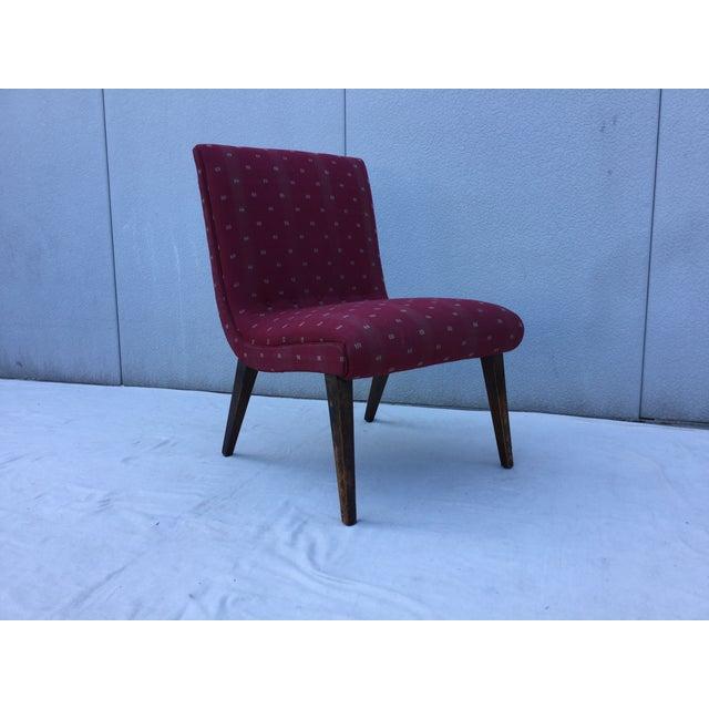 1960's Modern Slipper Chair - Image 2 of 9