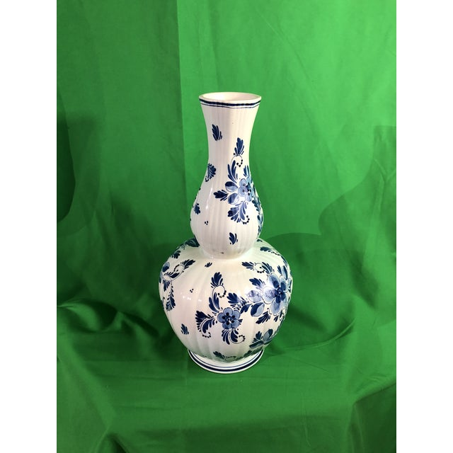 Abstract Expressionism Delft Vase Mid 19 Century For Sale - Image 3 of 6