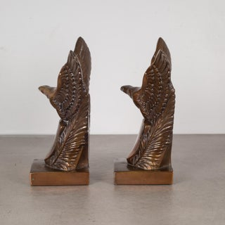 Bronze Plated Eagle Bookends C.1940 Preview