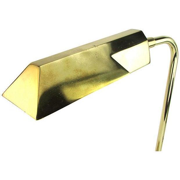 Stiffel Brass Executive Desk Lamp - Image 3 of 5