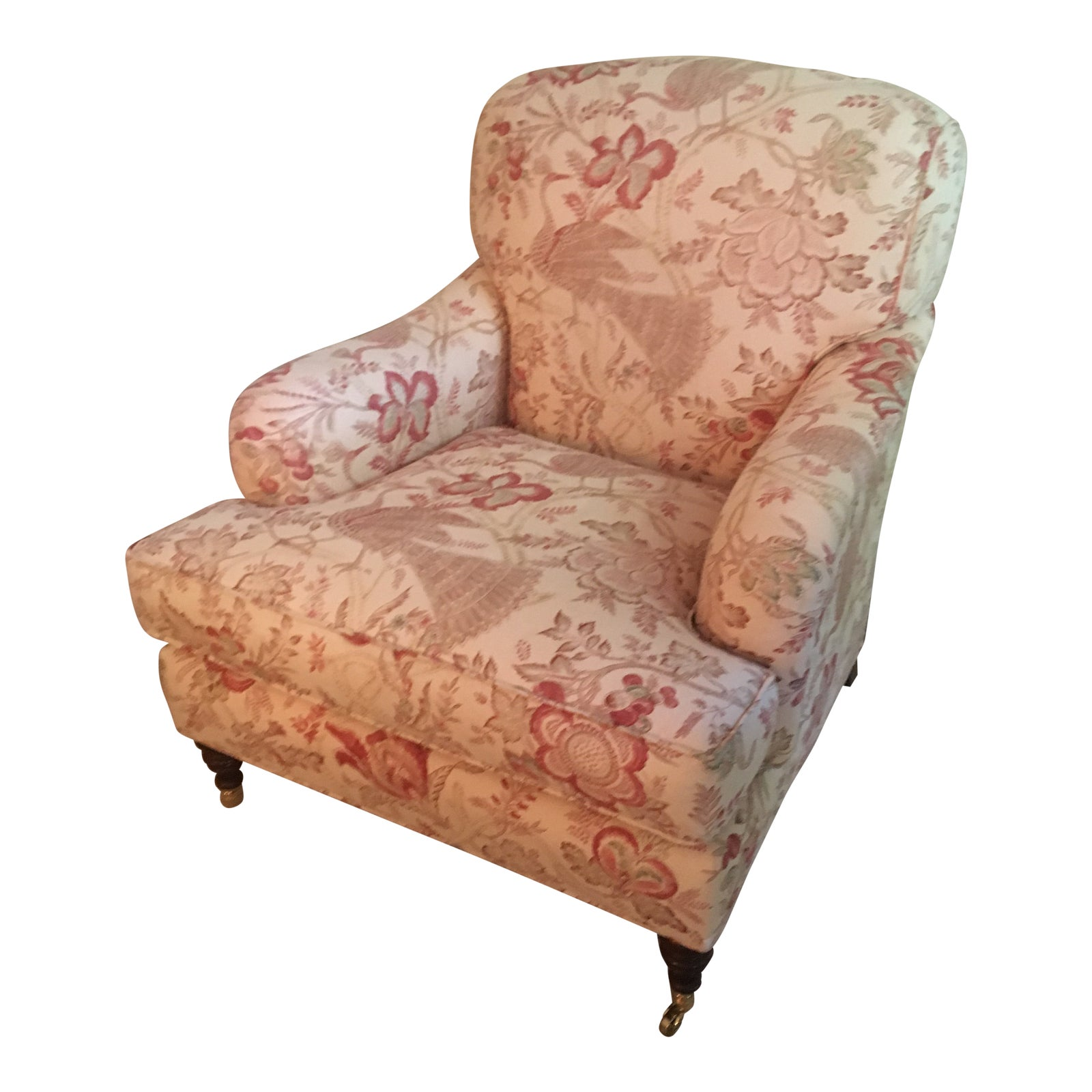 Swell Toile Club Accent Chair Gmtry Best Dining Table And Chair Ideas Images Gmtryco