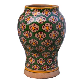 Moorish Ceramic Vase For Sale