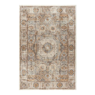 "Fairview Phillip Ivory Traditional Area Rug - 7'3"" x 10'3"""