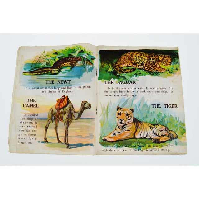 """Animals of All Lands"" Linen Children's Book - Image 5 of 11"