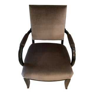 Modern Furniture Mohair Accent Chair For Sale