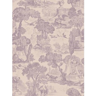 Cole & Son Versailles Wallpaper Roll - Mulberry For Sale