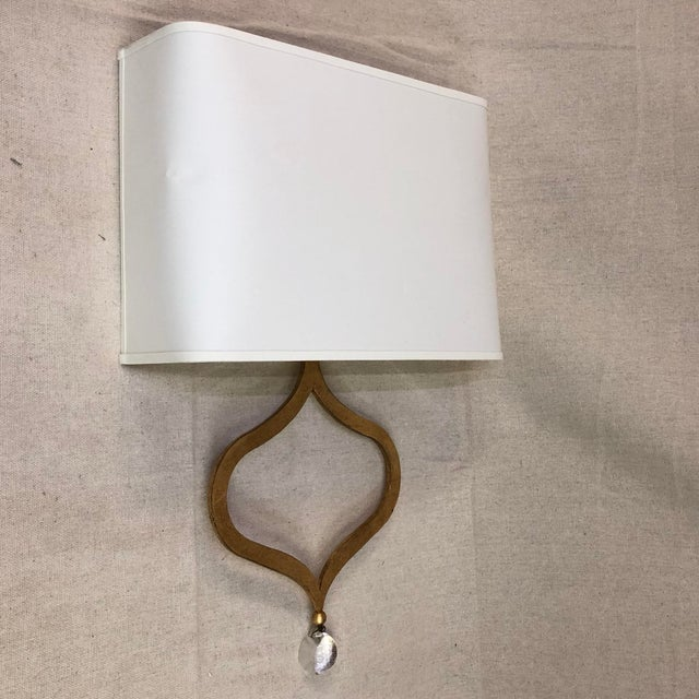 Visual Comfort Heart Wall Sconce in Gilded Iron For Sale - Image 12 of 12