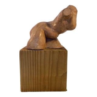 Terra Cotta Nude Female Sculpture For Sale