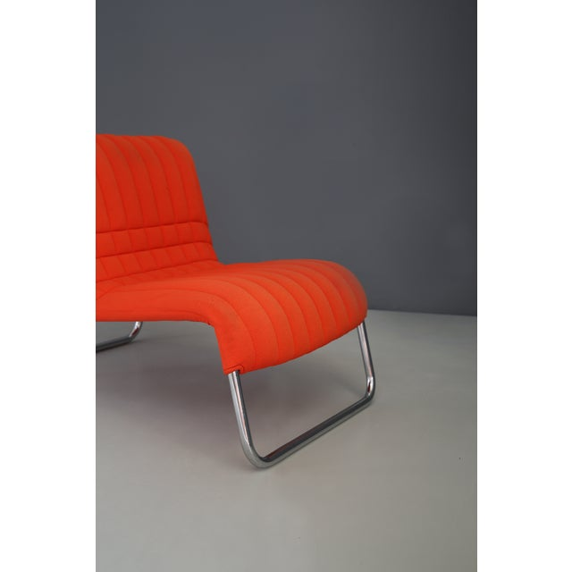 Chairs Lounge Italian Midcentury by De Pas and Lomazzi for Driade, 1970s For Sale - Image 4 of 5