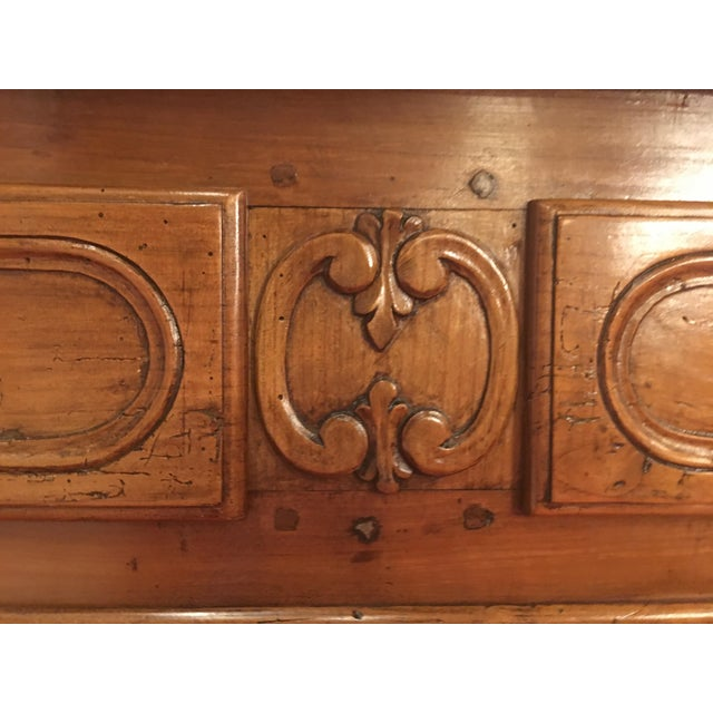 French Louis XV Provencal Period Four Drawer Chest For Sale - Image 11 of 12