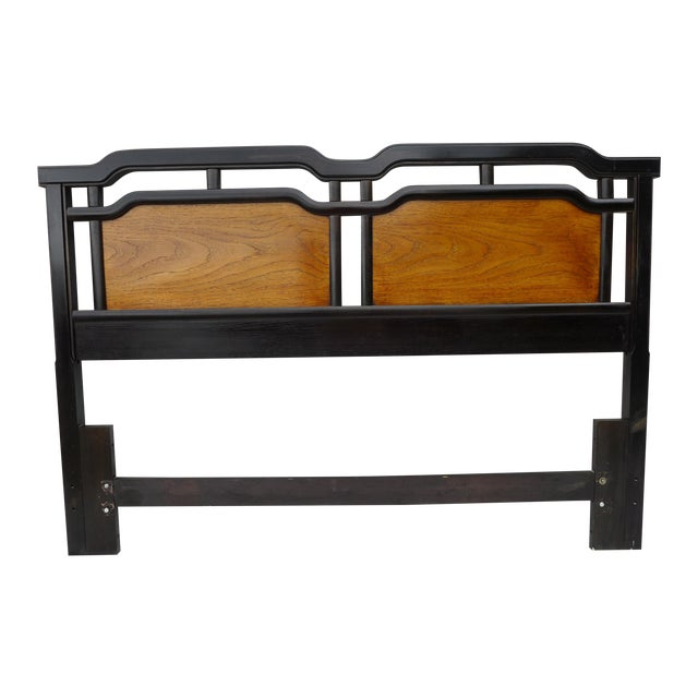 Thomasville Asian Inspired Queen Size Headboard - Image 1 of 7