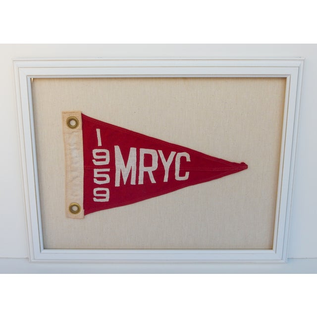 1959 Yacht Club Boat Race Flag - Image 2 of 3