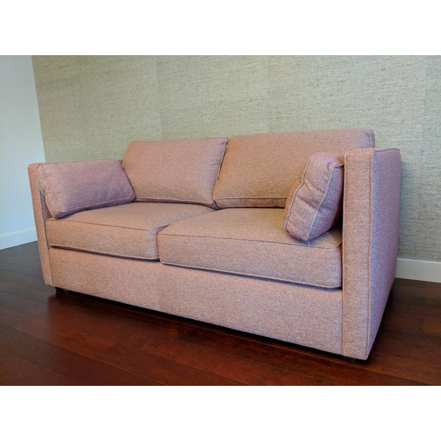 Contemporary Room & Board Custom Upholstered Watson Sofa For Sale - Image 3 of 4