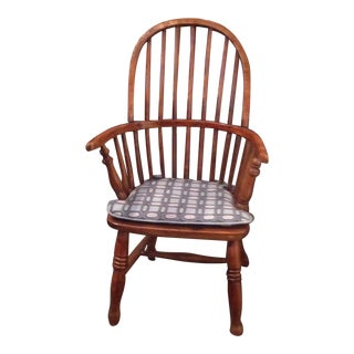 Antique English Child's Windsor Chair For Sale