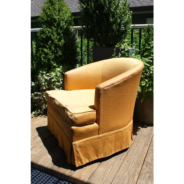 Vintage Swivel Chair Fairfield Furniture Company Chairish