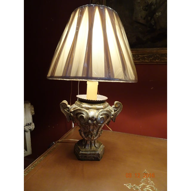 Small Pair of Italian Lamps For Sale - Image 10 of 12