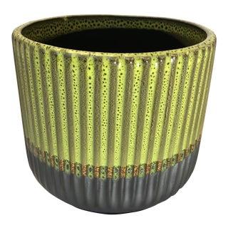 Palma Glazed Flower Pot