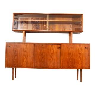 Danish Mid Century China Cabinet by Kofod Larsen For Sale