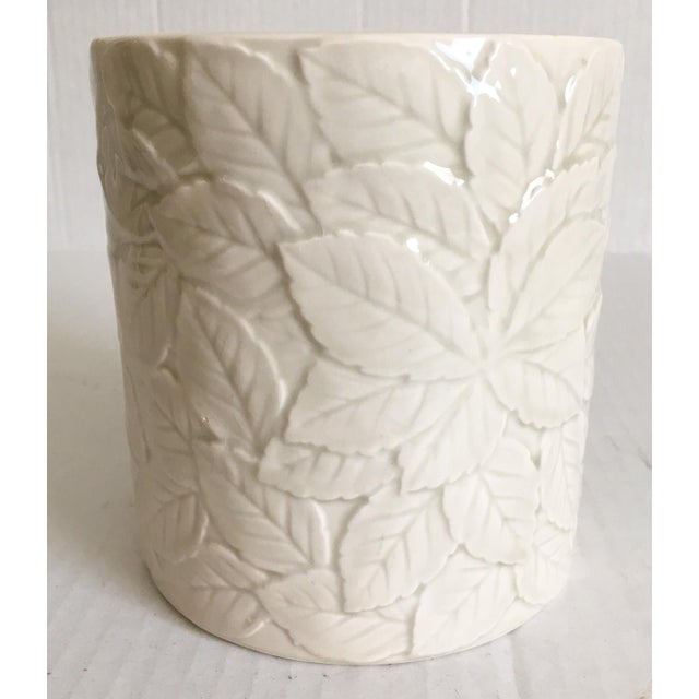 Strawberry Relief Ceramic Cachepot - Image 6 of 7