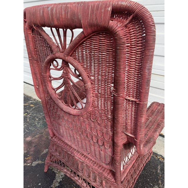 Polo Ralph Lauren Wicker Chair For Sale - Image 10 of 13