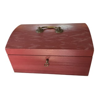 Replica American Dome Top Dovetailed Document Box