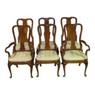 Vintage Amp Used Queen Anne Dining Chairs Chairish