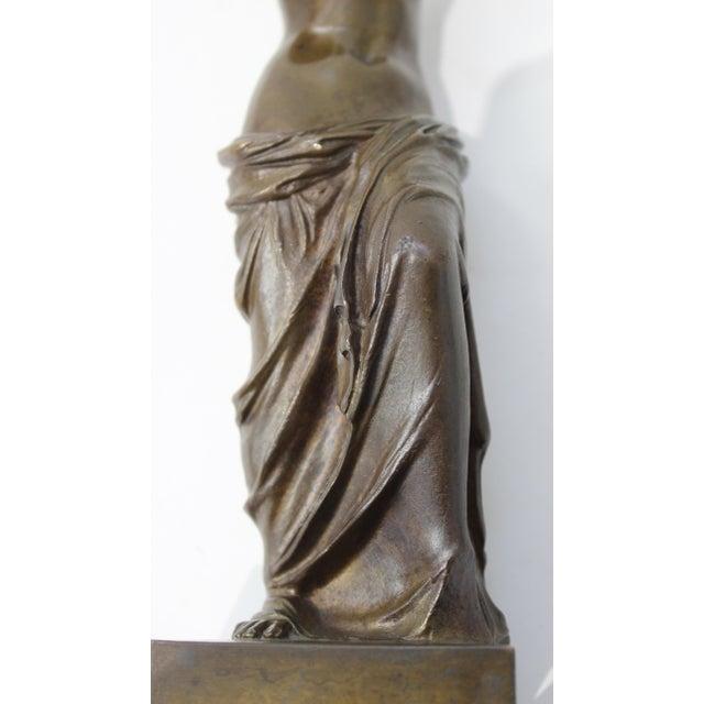 Antique Grand Tour Venus De Milo Bronze Figure For Sale - Image 10 of 13
