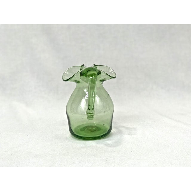 Blenko Blown Glass Pitcher - Image 2 of 4