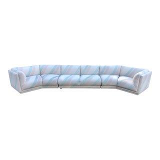 Mid-Century Modern Milo Baughman Geometric Sectional Sofa For Sale