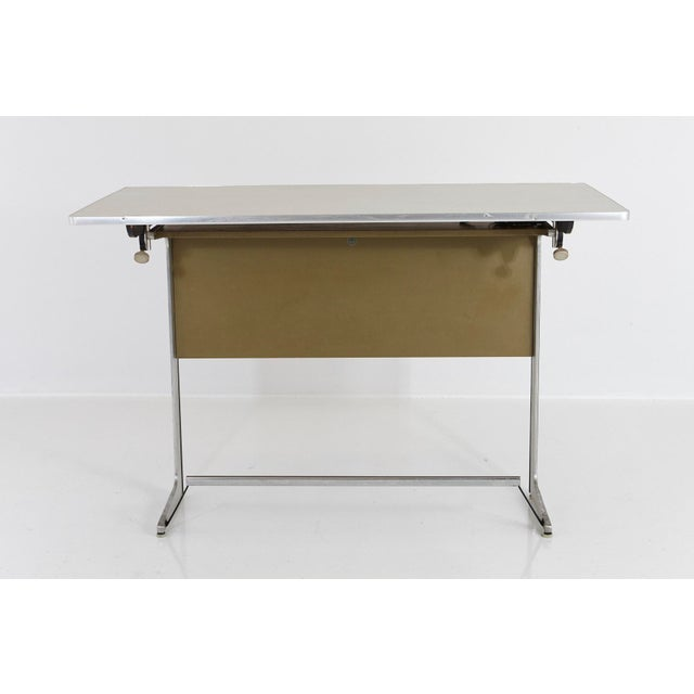 Mid-Century Modern Rare Herman Miller Action Office Standing Desk and Drawing Table, 1960s For Sale - Image 3 of 12