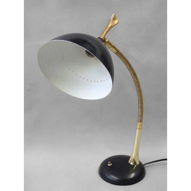 Gerald thurston for lightolier gooseneck desk lamp