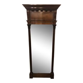 Neoclassical Style Baker Furniture Mahogany Wall Mirror