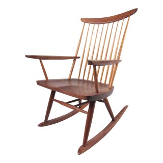 """Nakashima """"New"""" Rocking Chair For Sale"""