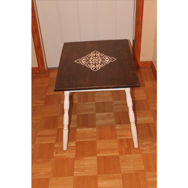 Rustic Side Table - Image 4 of 7