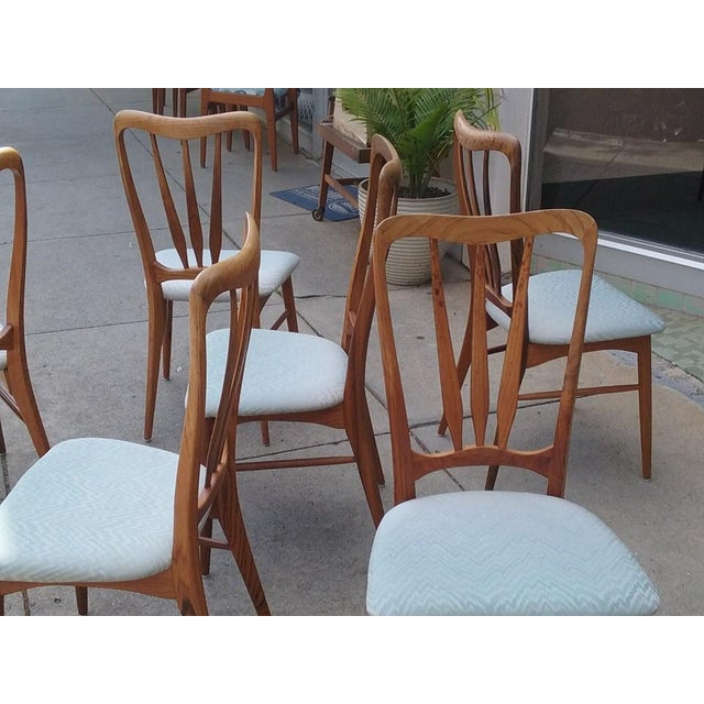 Koefoeds Hornslet Ingrid Dining Chairs - Set of 6 - Image 7 of 7