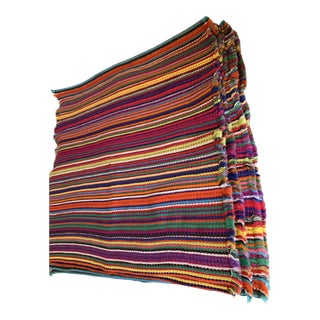 Bold Striped Boho Placemats, Set of Eight For Sale