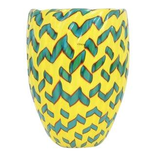 Vintage James Carpenter for Venini Calabash Vase For Sale
