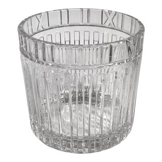 Tiffany & Co. Atlas Crystal Champagne Holder/Ice Bucket For Sale