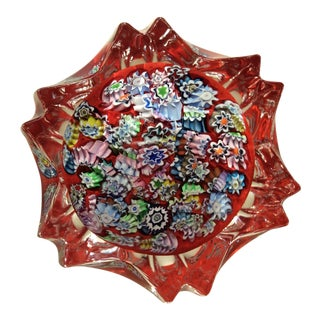 Peter McDougall Millefiori Paperweight For Sale