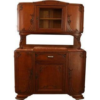 1920 Buffet Art Deco / MidCentury Modern Oak For Sale