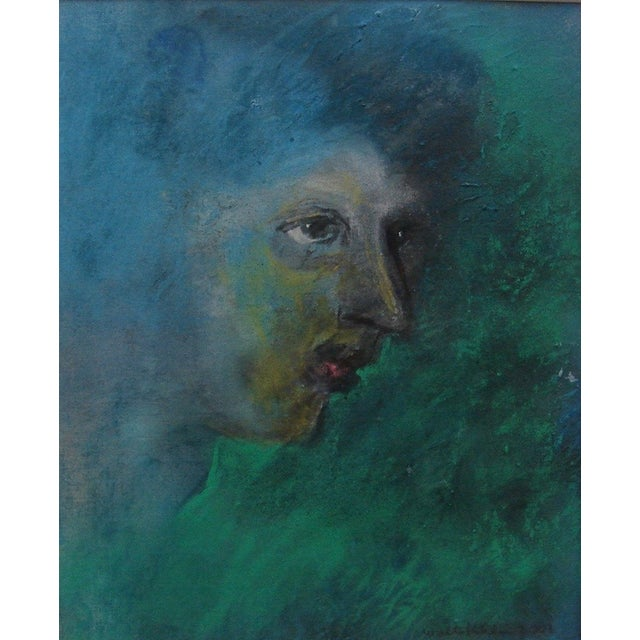 Pastel Over Monotype by Walter Kuhlman - Image 1 of 3