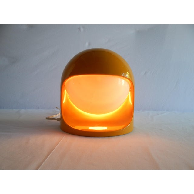 """Space Age Lightolier """"Interplay 2"""" Yellow Lamp For Sale - Image 11 of 13"""