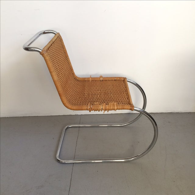 1960s Mies Van Der Rohe Mr Chrome Armless Chair For Sale - Image 5 of 9