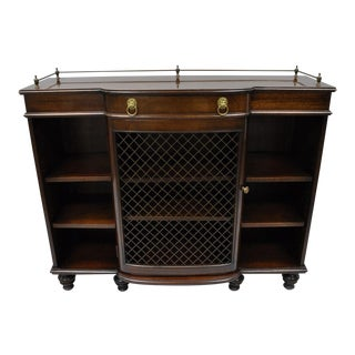 Mahogany Regency Style Console