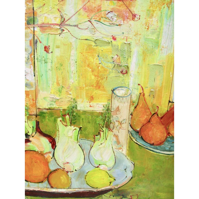 1950s Vintage Andre Vignoles Painting For Sale - Image 10 of 11