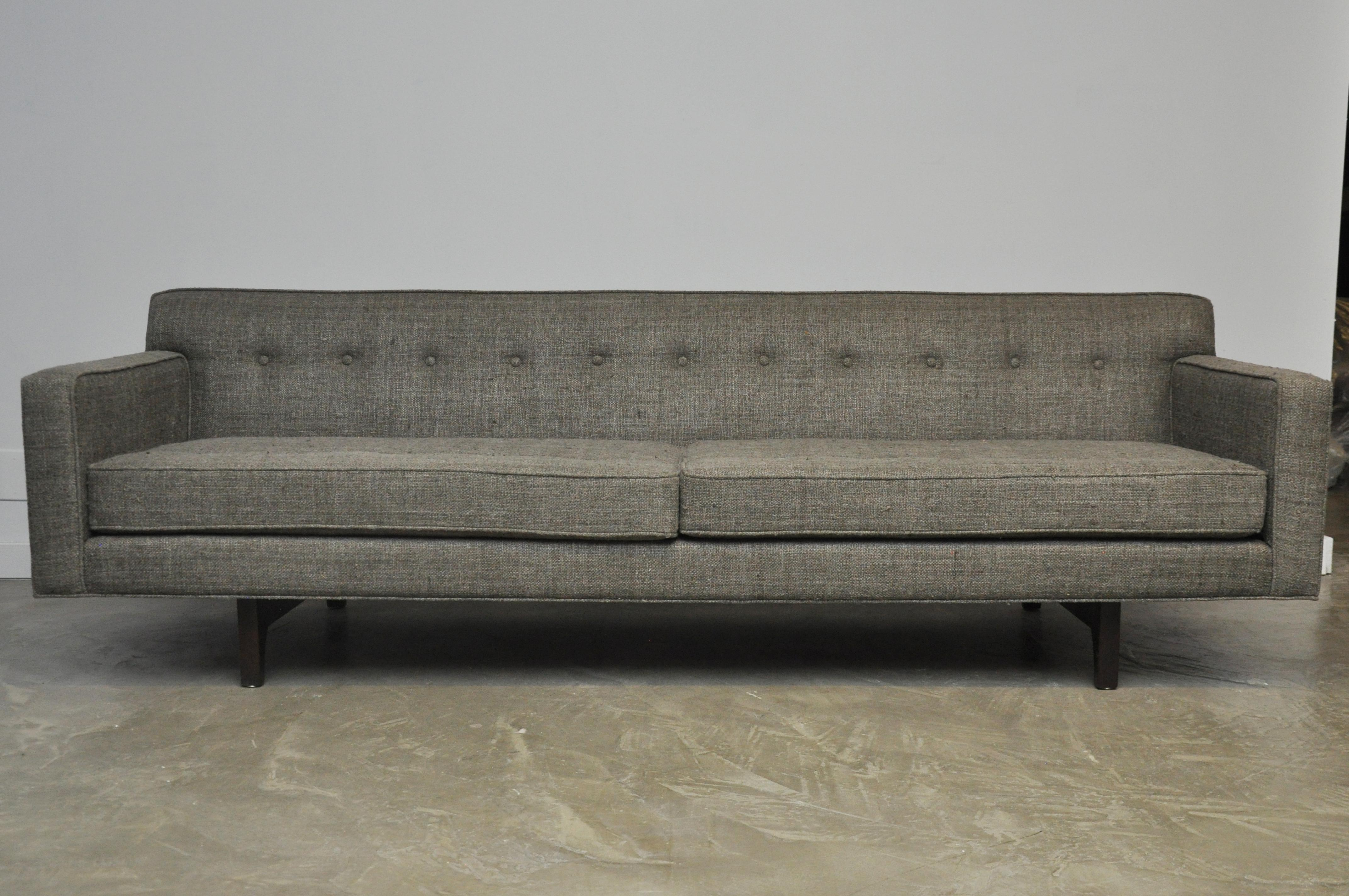 Dunbar Bracket Back Sofa By Edward Wormley   Image 2 Of 10